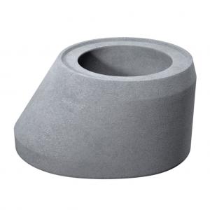 Cap tronconic D 100 di 80 g 12 H 81.5 cm