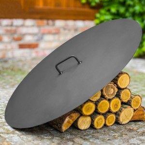 Capac rotund pentru vatra D 80.5 cm