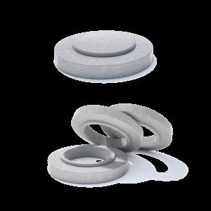 Rama circulara compozit+beton armat D 86.5 di 77.9 H 20 H1 16 H2 4 h 0 cm