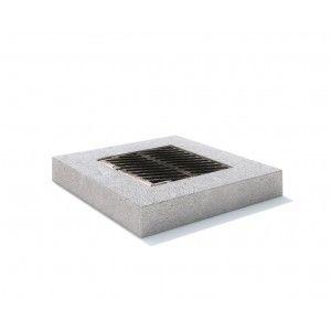 Rama rectangulara fonta+beton armat 100x100x15 cm