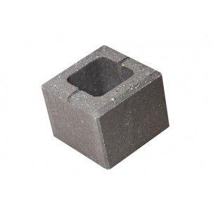 Element gard de jumatate Urbana 20x20x16 cm