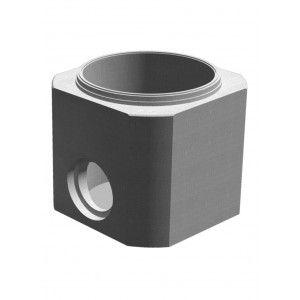 Element de baza tesita cu un gol D 130 di 100 h 100 H 112.5 cm