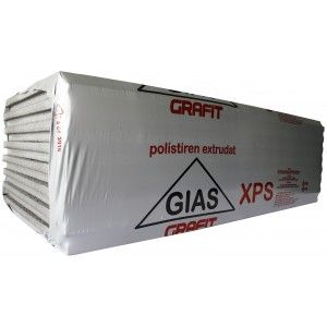 Polistiren extrudat Briotherm Gias Grafit XPS 20, 125x58x2 cm