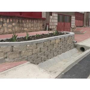 R9 Sant Trapezoidal Prefabricat Din Beton 59x35x33x25 cm, Ciment