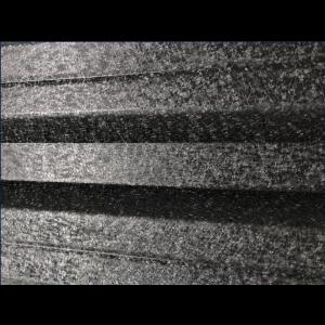Set 25 buc Sipca Metalica Orizontala Gard V-Mat Structurat Negru 0.50 mm
