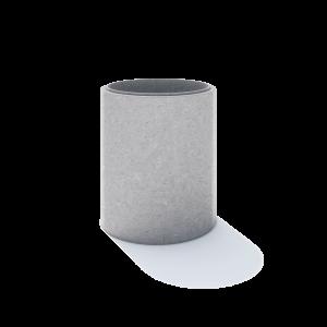 Inel pentru camine D 124 di 100 g 12 cm