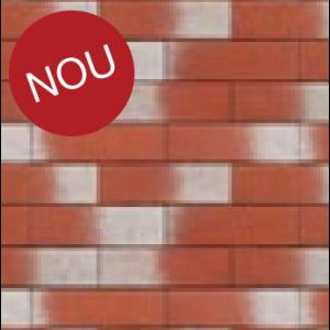 Coltar klinker Terca Pelaris Maca Red 21.5x6.5x1.4 cm