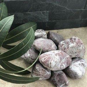 Marmura Rotunjita Rosie 4-8 cm, Sac 20 kg