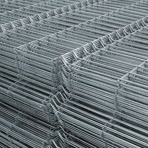 Panou bordurat zincat pentru gard 200x100x0.38 cm