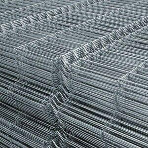 Panou bordurat zincat pentru gard 200x120x0.38 cm