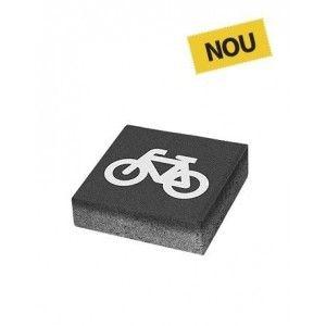 Patrat P3 Simbol Bicicleta 20x20x6 cm, Antracit