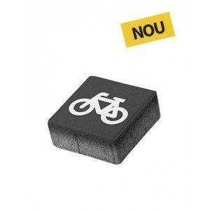 Patrat P5 Simbol Bicicleta 20x20x8 cm, Antracit