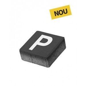 Patrat P5 Simbol Parcare 20x20x8 cm, Antracit
