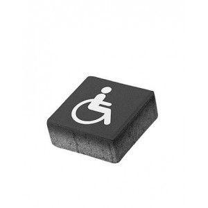 Patrat P5 Simbol Accesibilitate 20x20x8 cm, Antracit