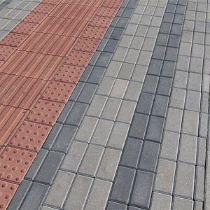 Tactil Linea 20x20x6 cm