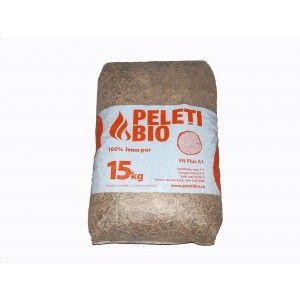 Peleti Bio 100% lemn pur, Pin, 6 mm