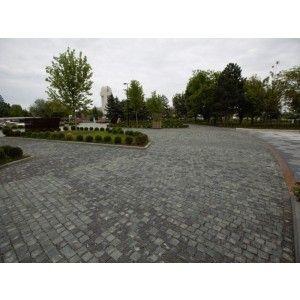 Piatra Cubica Andezit 8x8x8 cm, Gri Verzui