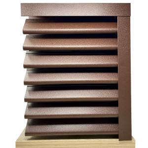 Panou gard Piramida profil cu gauri 200x123x0.045 cm Mat BGM