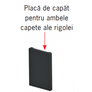 Placa de capat Monoblock PD 100 pentru ambele capete