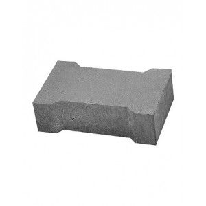 Placa Rigola Carosabila Simplu Armata 49x30x15 cm, Gri Ciment