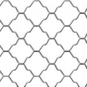 Plasa decorativa zincata 200x100x0.4x(6x6) cm RULTEHCOM
