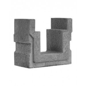 Rigola carosabila BG RD2 30x61x52.5 cm, Gri