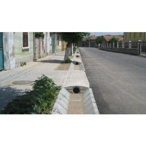 R4 Sant Trapezoidal Prefabricat Din Beton 90x41.6x37x20 cm, Ciment