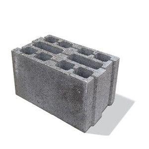 Bolţar zidărie 40x25x23,8 cm, gri