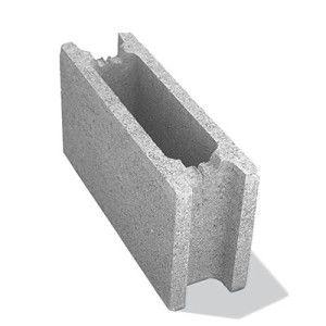 Bolţar fundaţie 50x15x25 cm, gri