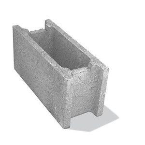 Bolţar fundaţie 50x20x25 cm, gri