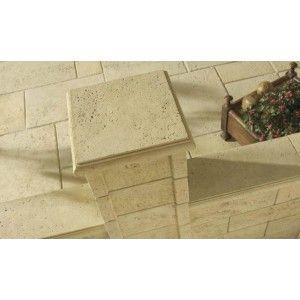 Bradstone Travero Dala Capac Stalp 35x35x5 cm, Gresie Nuantata