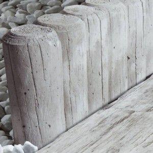 Nordic Maritime Palisade 40x8x15 cm, Gri Maritim