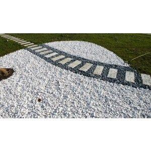 Pietre decorative Thasos 2-4 cm albe, 1500 kg