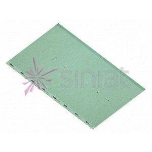 Placa gips carton rezistenta la umezeala , 260x120x1.25 cm