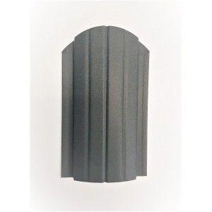 Sipca metalica gard Miriada Clasic Gri Mat 0.45 mm