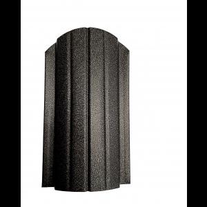 Sipca metalica gard Miriada Clasic Negru Mat 0.45 mm