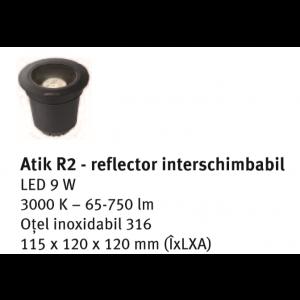 Spot ambiental Atik R2 11.5x12x12 cm