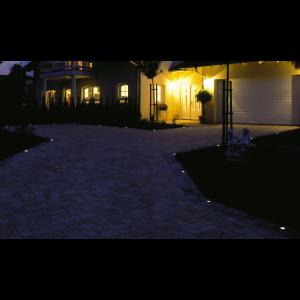 Set 10 LED-uri Patrate, RGB light, Cu Incarcare Solara