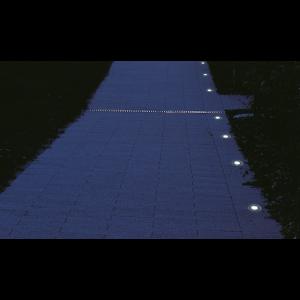 Set 10 LED-uri Rotunde, RGB light, Cu Incarcare Solara