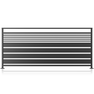 Balustrada metalica model 13, 200x90 cm