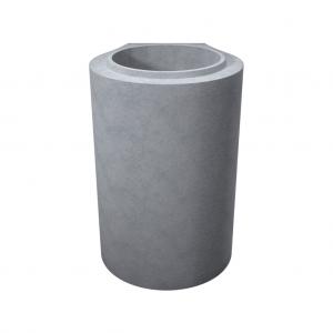 Tub cu talpa, cu cep si buza din beton simplu D 38 di 30 g 4 L 100 cm
