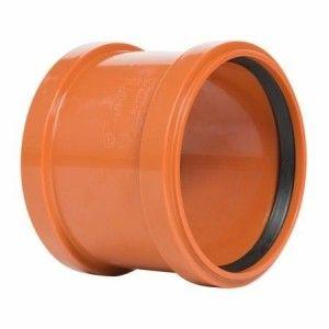 Mufa canal PVC DN125