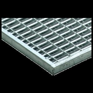 Gratar pentru stergator de picioare Self Vario din otel zincat 75x50x2 cm