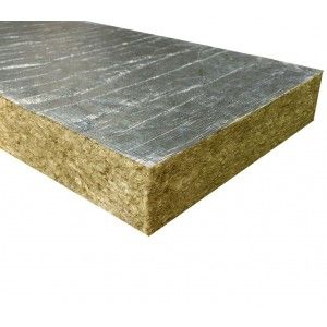 Vata minerala bazaltica Fibran cu aluminiu ALU B030, 120x60x10 cm, 30 kg