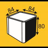 Cub Delimitare Grila 8.4x8.4x8 cm