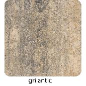 Roca 20x20x6 cm, Gri Antic