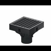 Gura de scurgere Self XtraPoint cu gratar din otel zincat 25x25x20.5 cm