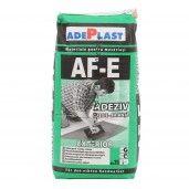 Adeziv Adeplast pentru gresie si faianta Flexibil Optim Dekor AFE exterior, Gri, 25 kg