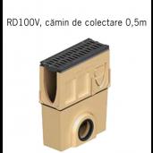 Camin colector Monoblock RD 100 din beton cu polimeri 50x16x52.5 cm DN110