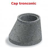 Cap tronconic D 92.5/130 di 62.5/100 g 15 H 67 cm
